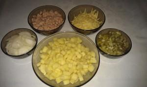 ингредиенты картофельной запеканки