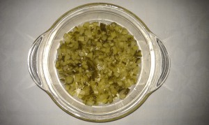 картофельная запеканка с огурцами