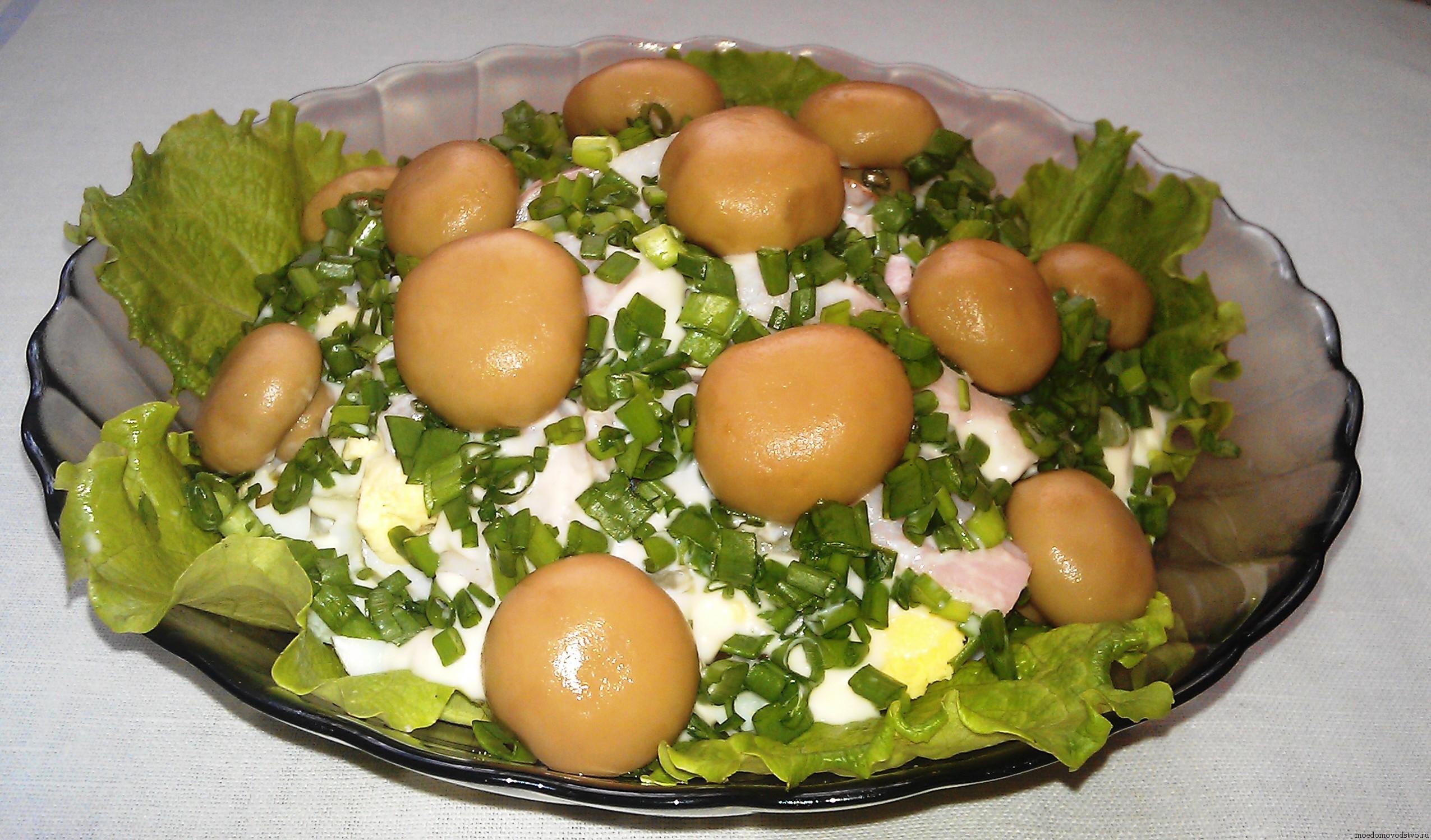 Лесная полянка салат фото