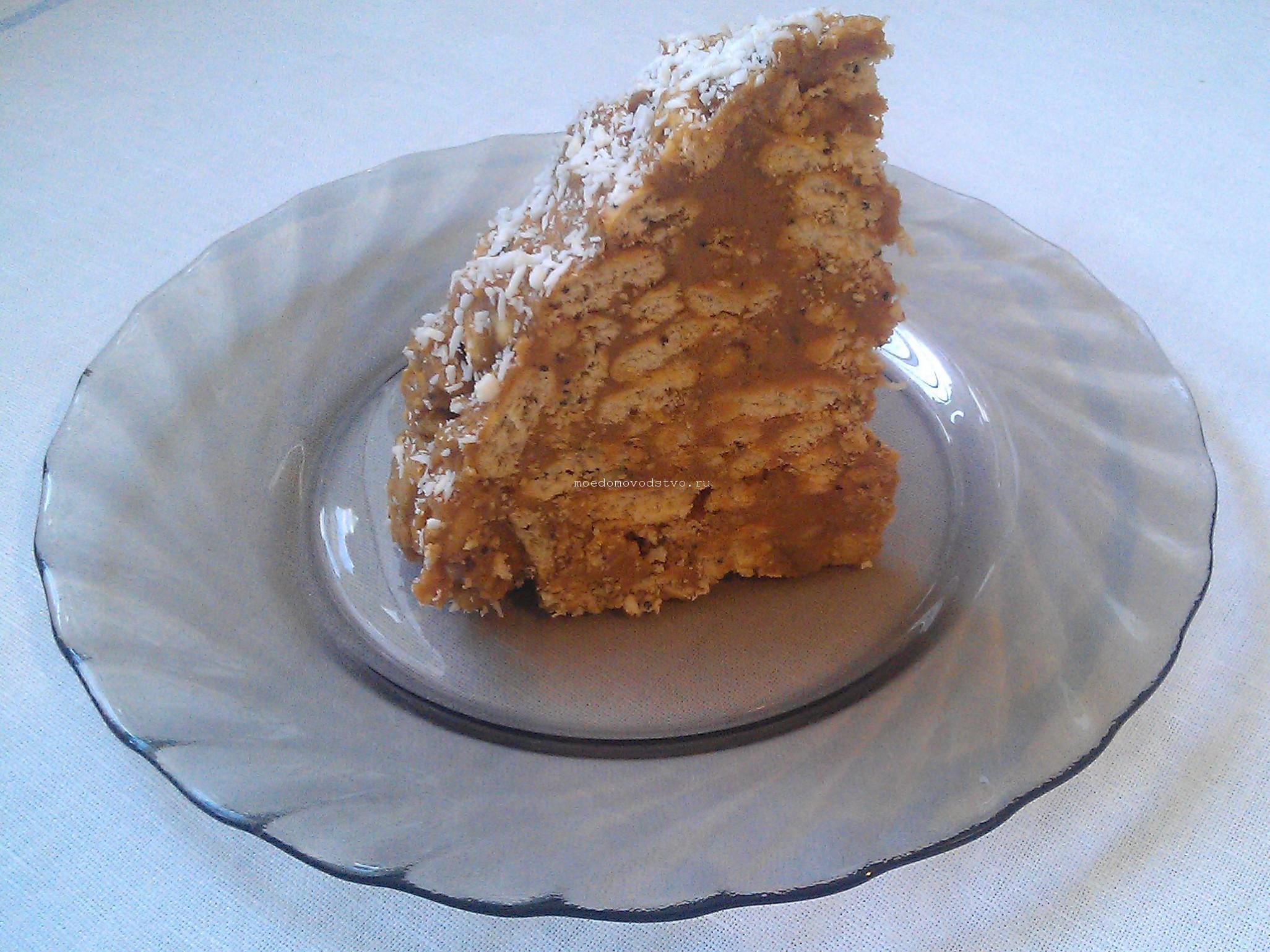 Пирог из печенья муравейник рецепт 127