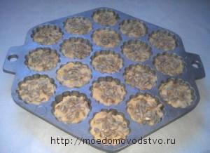 кексы с семенами подсолнечника