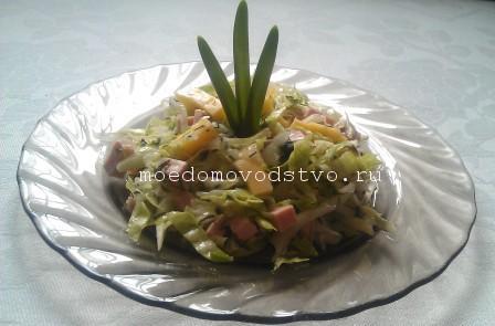 Оригинальный и простой салат с