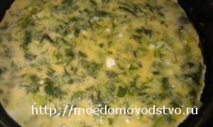 омлет овощной