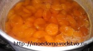 янтарное абрикосовое варенье