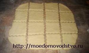 Печенье с грецкими  орехами и маком