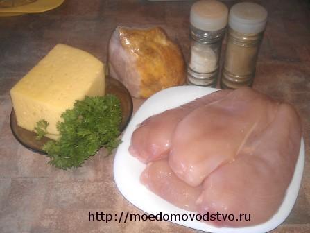 рецепт куриных рубленых котлет с сыром с фото